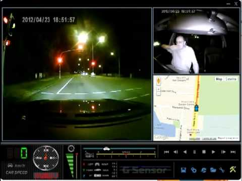 CD-E07 Car Camera With GPS Night Time Recording