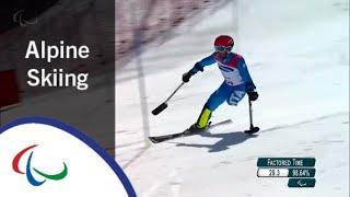 BENDOTTI Davide | Men's Slalom Run 1 & 2 |Alpine Skiing | PyeongChang2018 Paralympic Winter Games