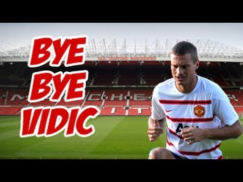 Vidic Decides to Leave Manchester United -- Man united Defender decides to leave in Summer 2014