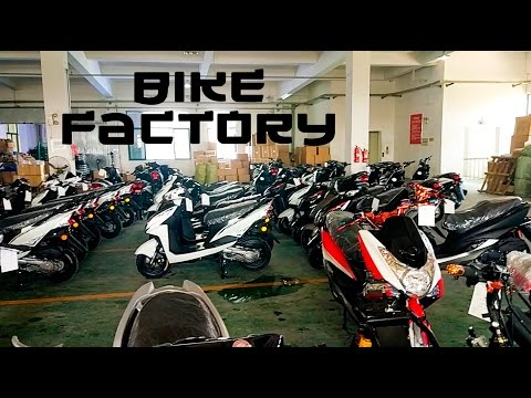 Visiting A Chinese Factory To Buy A Motorbike!