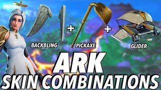 """""""Ark"""" SKIN BEST BACKBLING + SKIN COMBOS! (Season 8) (Fortnite) (2019)"""