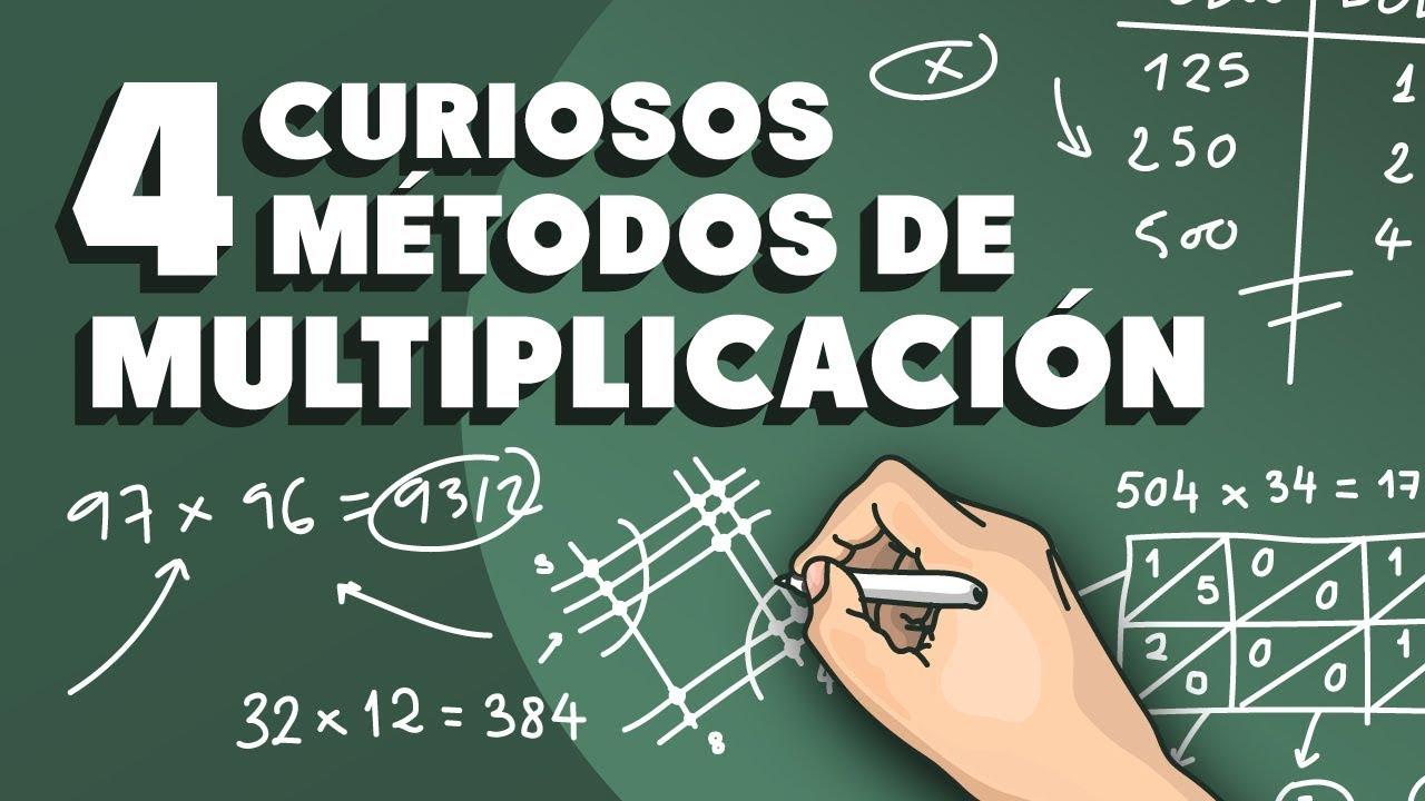 4 métodos de multiplicación sorprendentes