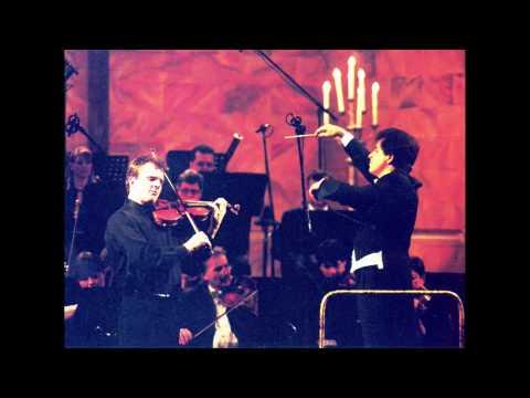 Rico Saccani, conductor BRAHMS Violin Concerto Axel Strauss violin