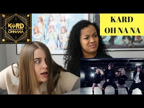 KARD OH NA NA CHOREOGRAPHY VIDEO REACTION