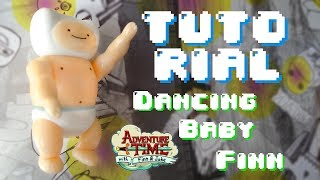 Dancing Baby Finn Polymer Clay TUTORIAL // Finn Bebe Bailando Porcelana Fria