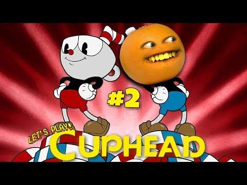 CUPHEAD #2 🍊🍵  [Annoying Orange Plays]