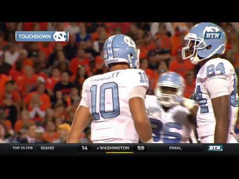 North Carolina at Illinois - Football Highlights