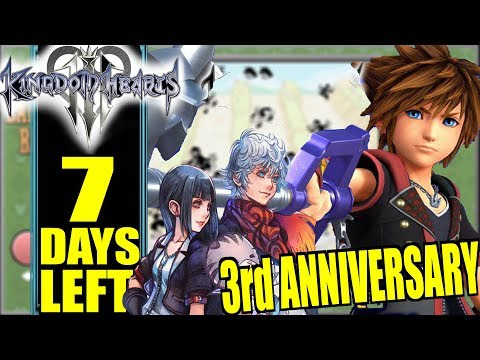 """KH3 """"PS LineUp Tour"""" Countdown: KHUX Story Updates & Exclusive Keyblade Challenge"""