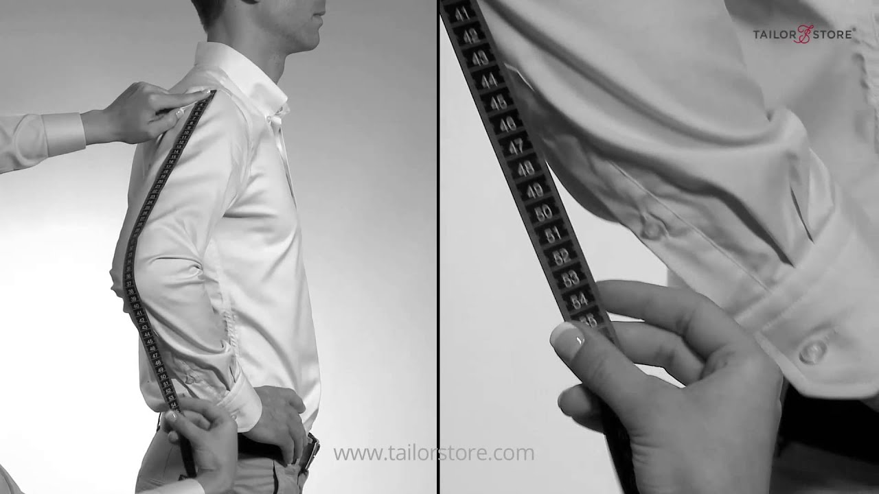 how to measure your arm length measurement guide men 39 s body measurements youtube. Black Bedroom Furniture Sets. Home Design Ideas