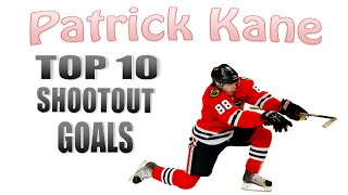 Patrick Kane Top 10 Shootout Goals