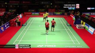 Video R64 (Day 1) - MD - H.Bach/T.Gunawan vs. Mohd Zakry Abdul Latif/TH.Hoon-Yonex BWF World Champs '11 download MP3, 3GP, MP4, WEBM, AVI, FLV September 2018