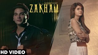 Zakham - Sandeep Khan | Latest Punjabi Songs 2016 | Harp Farmer Pictures