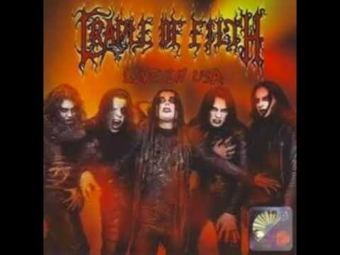 Cradle Of Filth - LIVE AT USA  FULL (High Quality Audio)