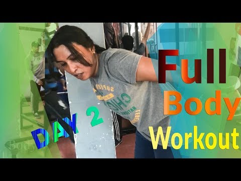 ( Day 2 )  Full body workout | Train to Tone Weight loss for women ( Hindi )