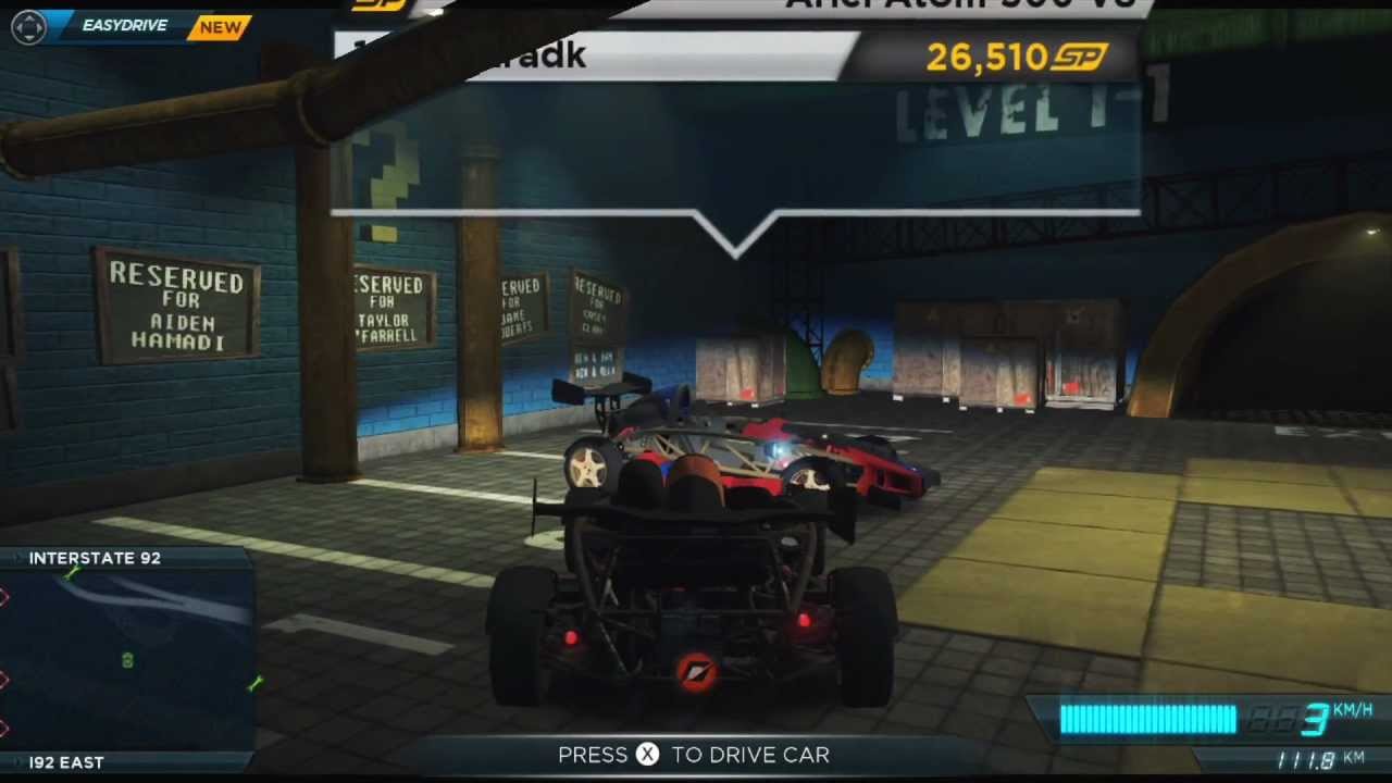 how to get izzy car in most wanted