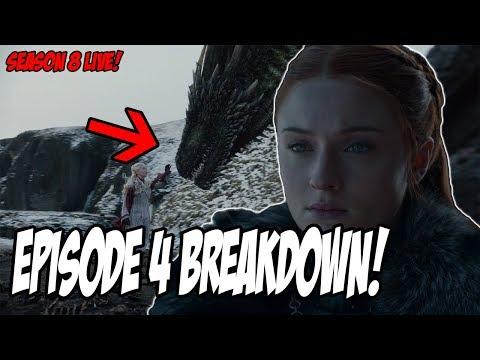 Game Of Thrones Season 8 Episode 4 LIVE Breakdown!