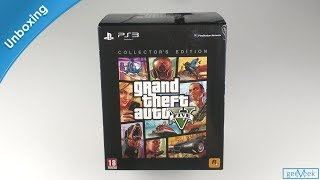 GTA V Collector's Edition - PS3 Unboxing