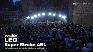 EUROLITE LED Super Strobe ABL - Sample of use - exit:ruine Wertheim
