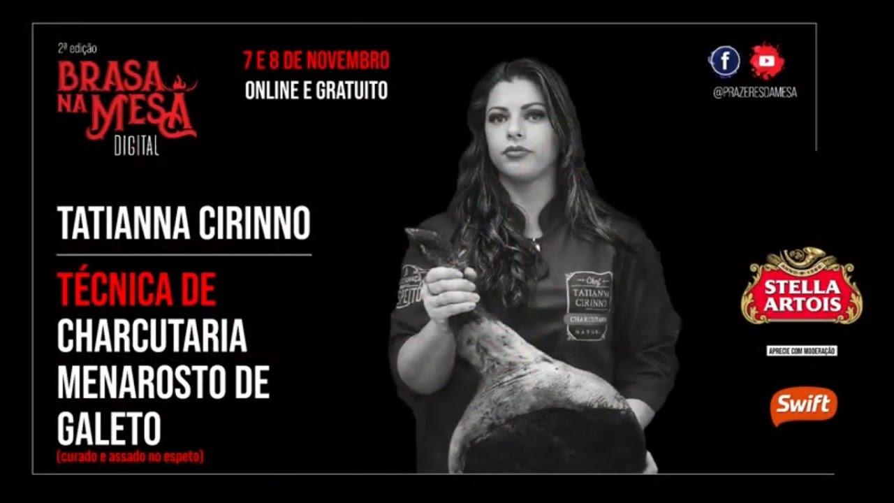 Brasa na Mesa digital - Menarosto de galeto - Tatianna Cirinno