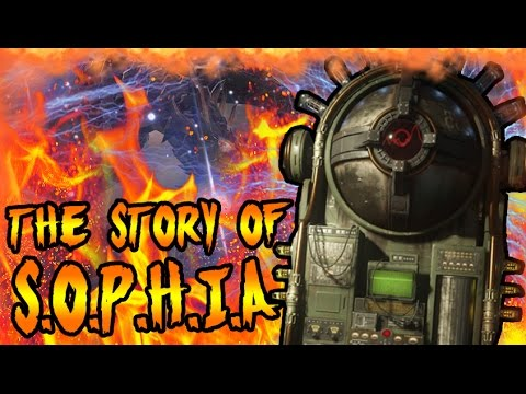 The Story of SOPHIA! KILLED BY DR MAXIS TO SAVE THE WORLD! Black Ops 3 Zombies Storyline