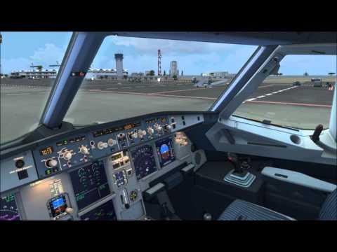 FSX - A320 Tunisair - DTMB