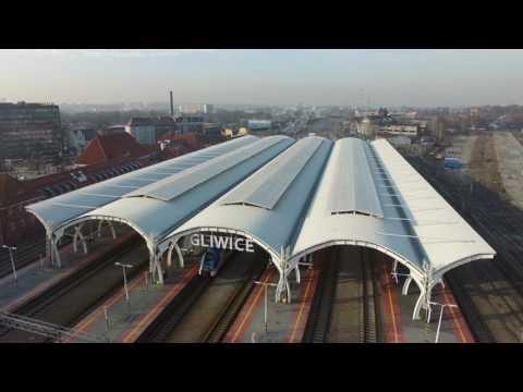 MADE IN GLIWICE: Aldesa - Dworzec kolejowy w Gliwicach
