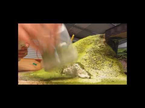 Dan's Model Railway – How I apply my static grass