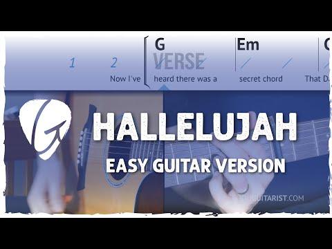 87 Mb Hallelujah Chords Guitar Free Download Mp3