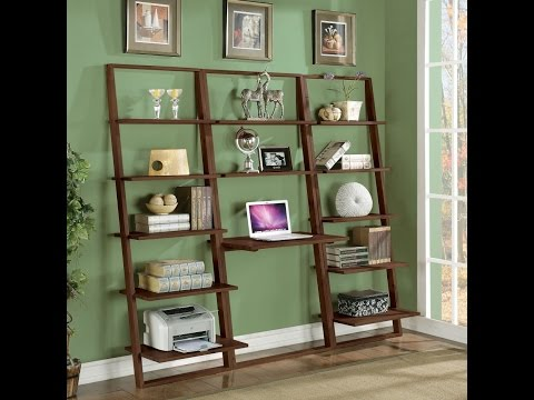Inspiring Leaning Ladder Shelf Ideas To Make Over Your