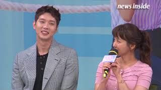 [영상] 지현우, 이시영 촬영 에피소드 답변 중 '빵 터진 웃음' 무슨 신이길래? (사생결단 로맨스)