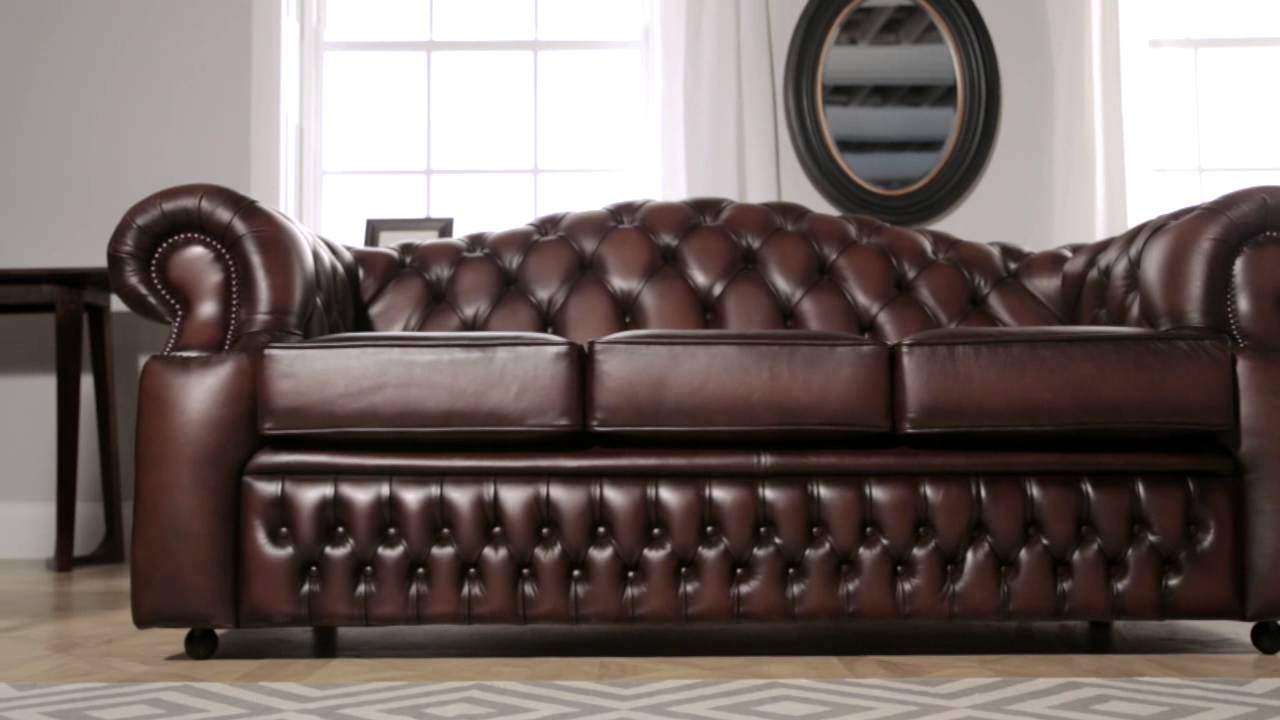 Oxford Chesterfield Sofa from Sofas by Saxon   YouTube Oxford Chesterfield Sofa from Sofas by Saxon