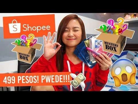 SHOPEE MYSTERY BOX NA WORTH IT!!! HIMALA TO!