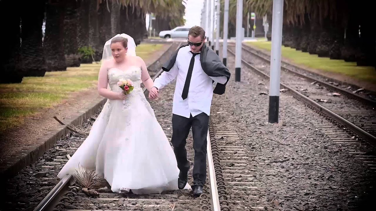 Funny Wedding Reception Entrance - YouTube
