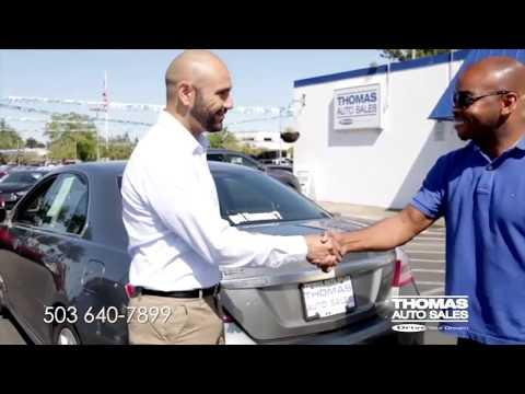 Got Thomas? Thomas Auto Sales in Hillsboro