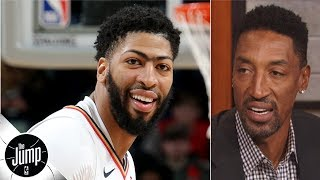Anthony Davis doesn't care about his $50K fine - Scottie Pippen | The Jump