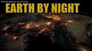 "4K Time Lapse Video: Earth By Night - Earth from space (Music Elgar ""Nimrod"")"