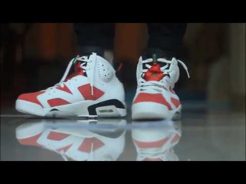 fec940d5127a55 JORDAN 6 GATORADE ON FOOT HD REVIEW - YouTube