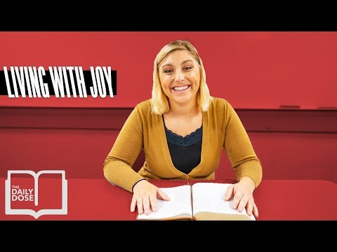 Living With Joy // Daily Devotional // October 5th