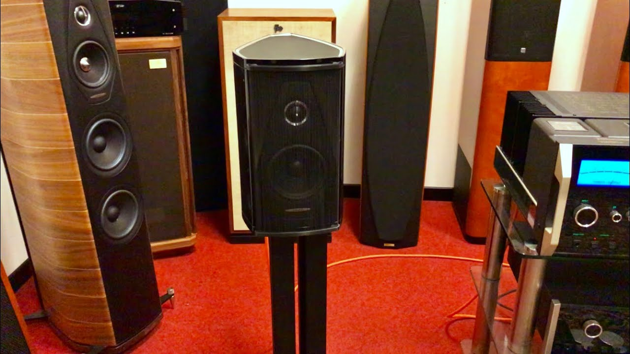 Sonus Faber OLYMPICA 1 playing Aaliyah by Sound Sommelier