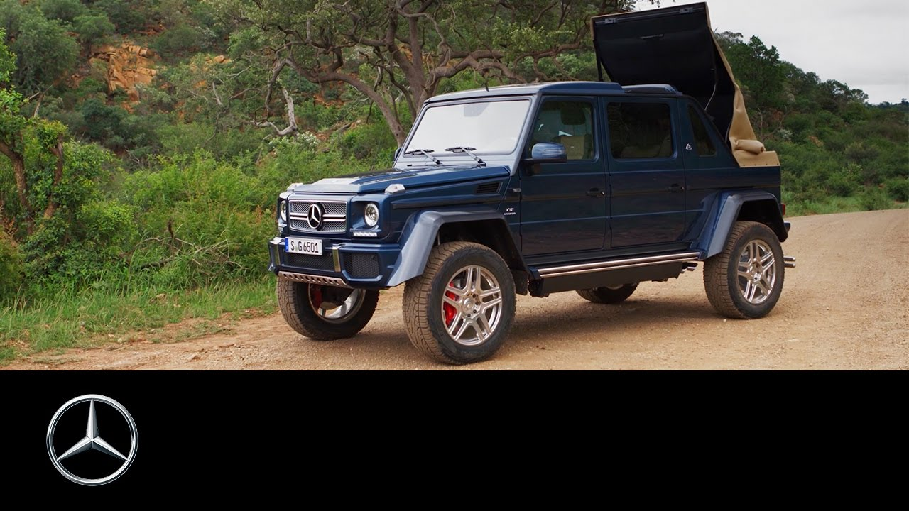 Mercedes maybach g 650 landaulet in africa mercedes benz for Mercedes benz 650