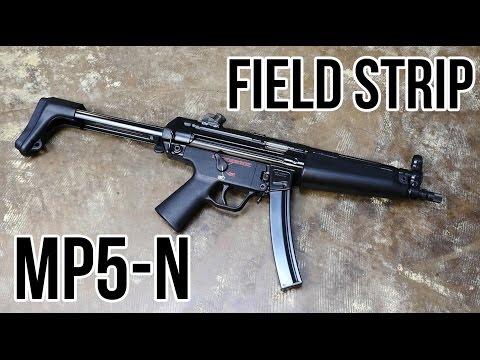 HK MP5 Field Strip