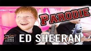 Ed Sheeran Carpool Karaoke (OFFICIAL PARODIE)