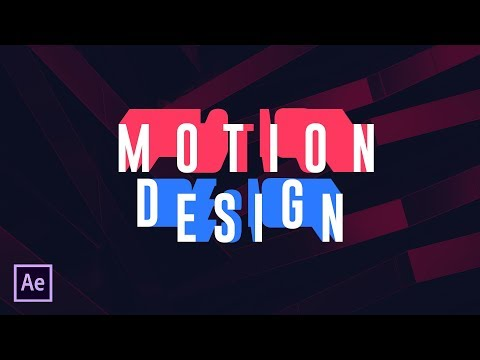 After Effects Tutorial - Smooth Text Animation in After Effects