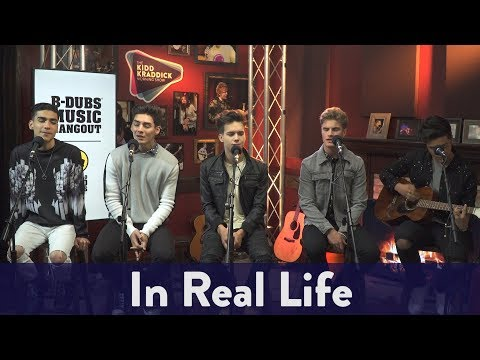 In Real Life - Eyes Closed (Live) | KiddNation