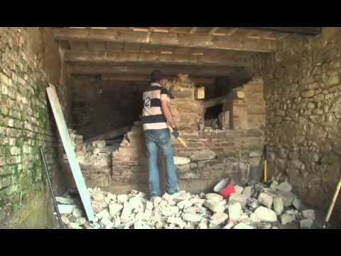 Demolizione youtube - Come rivestire un muro interno ...
