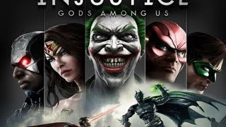 Injustice Gods Among Us Gameplay Demo w/Live Commentary (PS3)