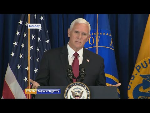 Vice President Pence travels to Arizona, a state seeing a spike in coronavirus cases   EWTN News Nig
