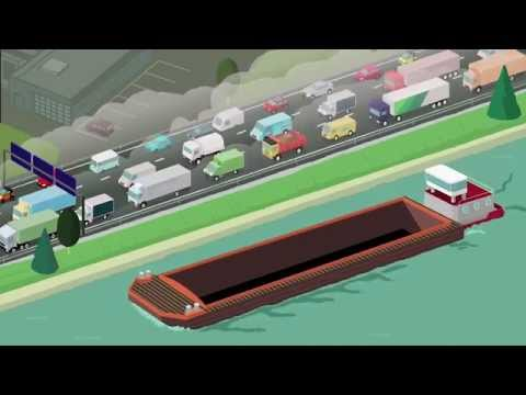 Transport fluvial et distribution urbaine