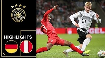 Erster Sieg nach der WM | Deutschland - Peru 2:1 | Highlights | Testspiel
