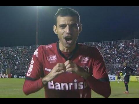 Gol de Diogo Oliveira, Brasil-RS 1 x 0 Paysandu - Série B 31/05/2016